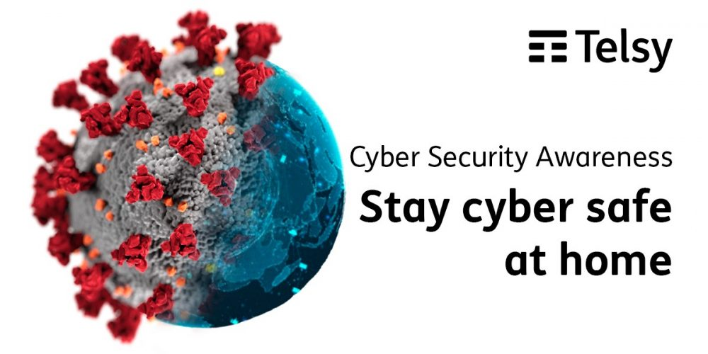 Telsy Cybersecurity Awareness – Stay cyber-safe at home